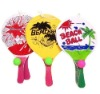 Beach Paddle Racket Set /Wooden Beach Bat