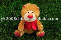 Plush & stuffed christmas lion toy yk150018