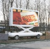 mobile trailer LED display system