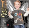 boys' garment/ bairn's wear/Kid's T-shirt