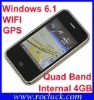 C6 Windows Mobile Quad Band with WIFI and GPS Phone