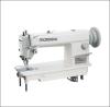 Single needle heavy duty top and bottom feed lockstitch sewing machine