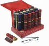 Metal Full Frame Reading Glasses with Clothed Aluminum Case (RS106)