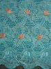African Lace  Swiss Lace  Cotton voile embroidery fabric