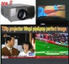 lcd video projector home theater projector 720p PIP POP speaker   in
