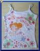 girl's flower vest