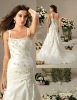 VE8009 Applique bridal gown