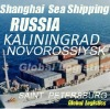 Shanghai/China to RUSSIA sea shipping/FCL/LCL, Shanghai/China to MOSCOW, NOVOROSSIYSK, ST. PETERSBURG sea shipping/FCL/LCL