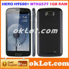 Hero H9500 H9500+ (i9300) MTK6577 1G RAM Dual core ZP900 5.3 inch 960*540 8MP Android 4.0 Wifi GPS