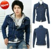 fashion 100%cotton Denim jeans jacket wholesale