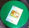 green layered PE plastic cutting board