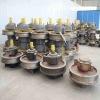 Double rim wheel group for gantry crane used