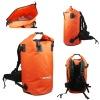 Sealock 66L orange waterproof travel backpack