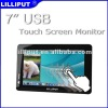 "7"" USB Touch Monitor with 2 Built-in Speakers"
