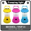 2012 hot sale portable LED camping lantern light