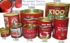 400g canned tomato paste in China ,28-30%brix