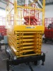 Manual scissor lifting platform