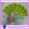 promotion gifts of plastic fan for summer used
