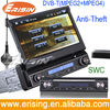"Erisin ES798D 7"" Single Din Car Radio DVD Steering Wheel Control"