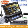 "Erisin ES798D 7"" Single Din Car Radio DVD Steering Wheel Control"