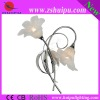 2011 Newest Glass wall lamp with 2lights B-072366/2