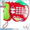 hot selling music and light kids telephone toy