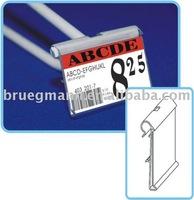 Label holder/Price tag/Flip scan for hook