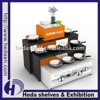 3-tier Wooden Exhibition Stand
