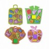 2011 Fashion Kids toy EVA stamp set