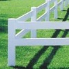 Plastic ranch fencing