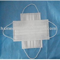 Non-woven ear-loop face mask