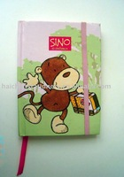 Hard cover notebook with exquisite design