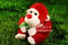 Plush Valentine Gift Monkey Toy