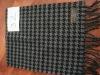 XZ-L0209 pendant black & white striped men scarf