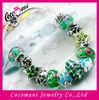 Stress macrame ball beads shamballa crystal bracelet