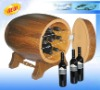 20 liters 7 bottles wooden wine fridge