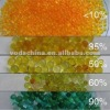China type A Orange Silica Gel, Silica Gel Desiccant to green or to white (1-3mm, 2-5mm, 4-6mm, etc) for power transformers