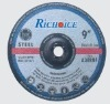 Cutting wheel for steel, Abrasive cutting wheel