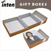 book style printed custom gift boxes