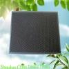 Panel carbon air hepa filter media