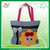 New patched sunflower canvas bags handbags for woman