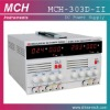 MCH Power Supply Product,MCH-303D-II dual output power supply,0-30V/0-3A varialble dual output