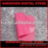 New Silica gel Computer mouse pad &high density & pink