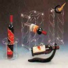 acrylic bottle holders FW-0015, wine bottle holder