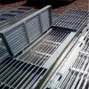 bar grating well cover