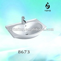 Ceramic Heart Shape Wash Sink
