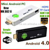 Android 4.0 Mini PC IP TV Google TV Box A10 1.5Ghz WiFi HDMI MK802 1GB DDR3