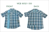 men's fashion shirts,men's dress shirt, cotton shirt, plaid shirt, short sleeve shirt