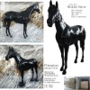 UWAY-DH-001 display horse,made of fiberglass,life size