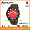 Black Plastic and Pu Watch Promotion
